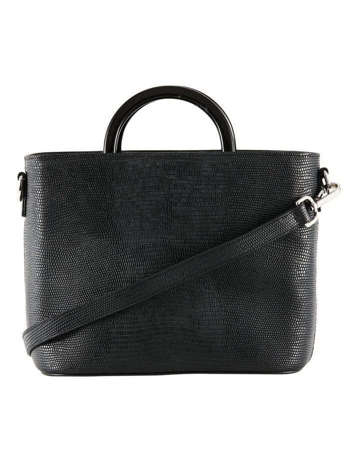 NVAW20-SB20 The Jasper Lizzie Top Handle Black Crossbody Bag image 1