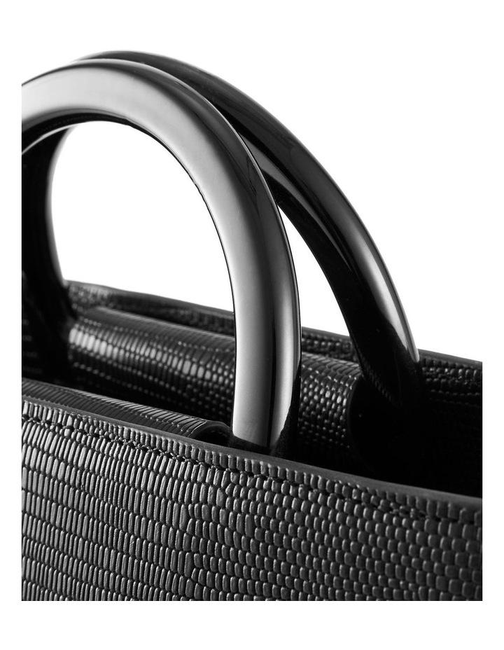 NVAW20-SB20 The Jasper Lizzie Top Handle Black Crossbody Bag image 2