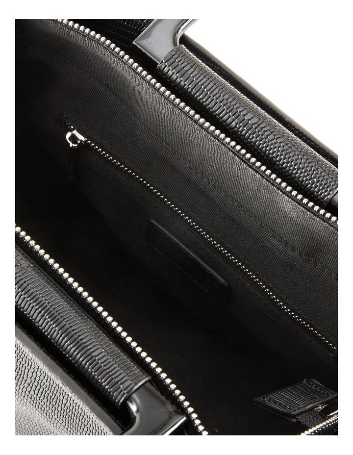 NVAW20-SB20 The Jasper Lizzie Top Handle Black Crossbody Bag image 3