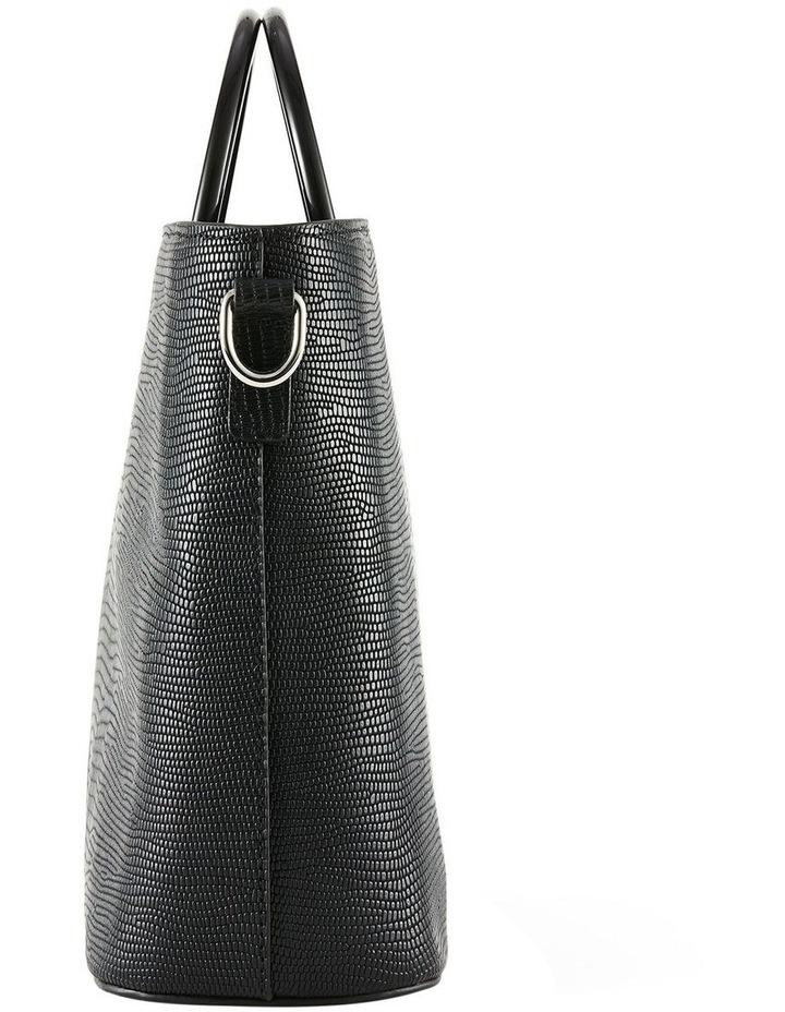 NVAW20-SB20 The Jasper Lizzie Top Handle Black Crossbody Bag image 5