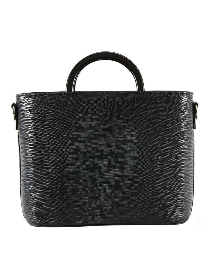 NVAW20-SB20 The Jasper Lizzie Top Handle Black Crossbody Bag image 6