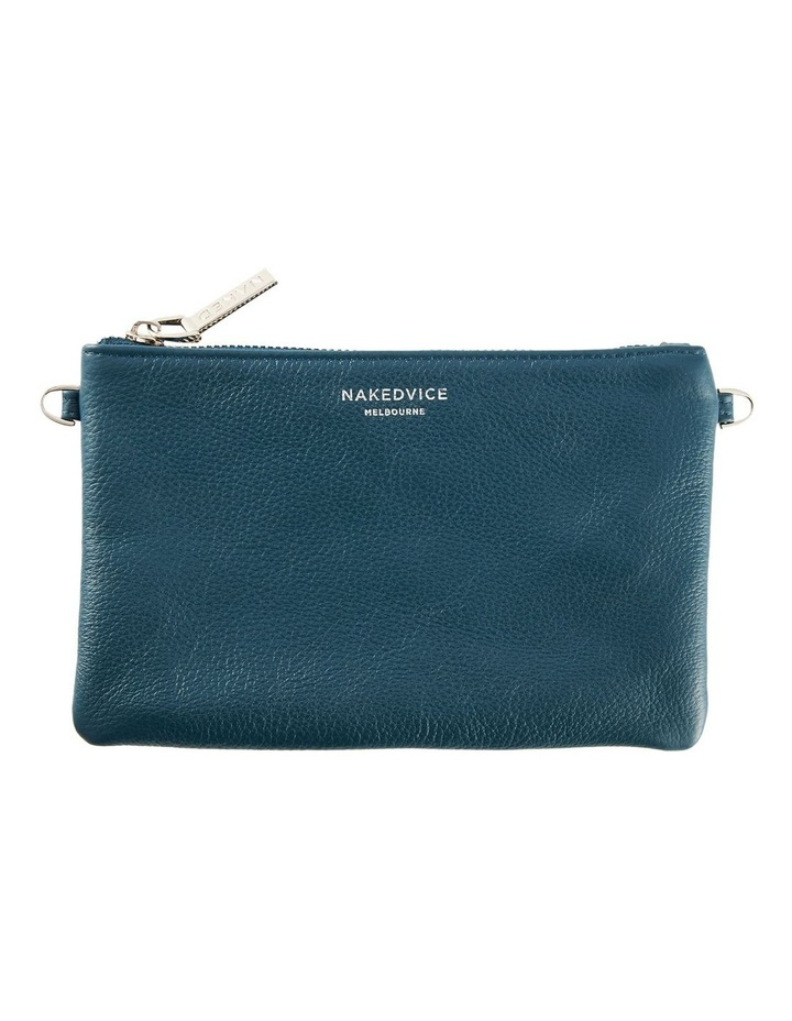 NVAW20-SB18 The Ari Zip Top Teal Pouch image 1