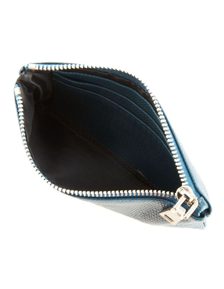 NVAW20-SB18 The Ari Zip Top Teal Pouch image 2