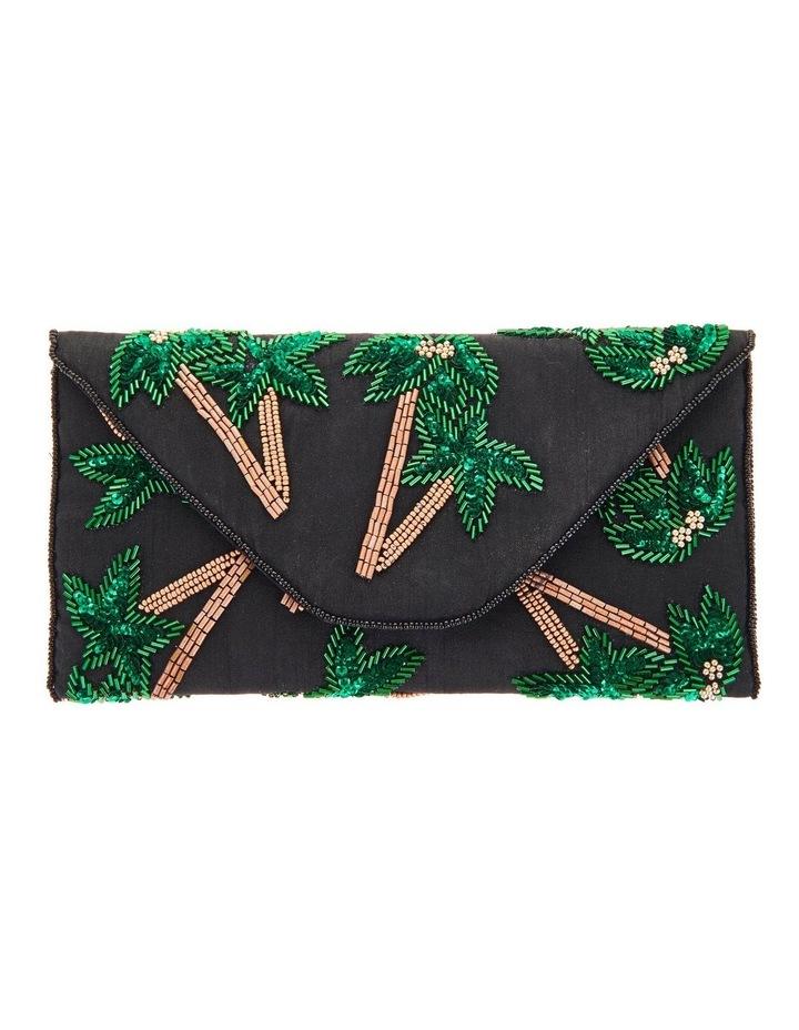 FSX201S105 Tropica Flap Over Clutch Bag image 1