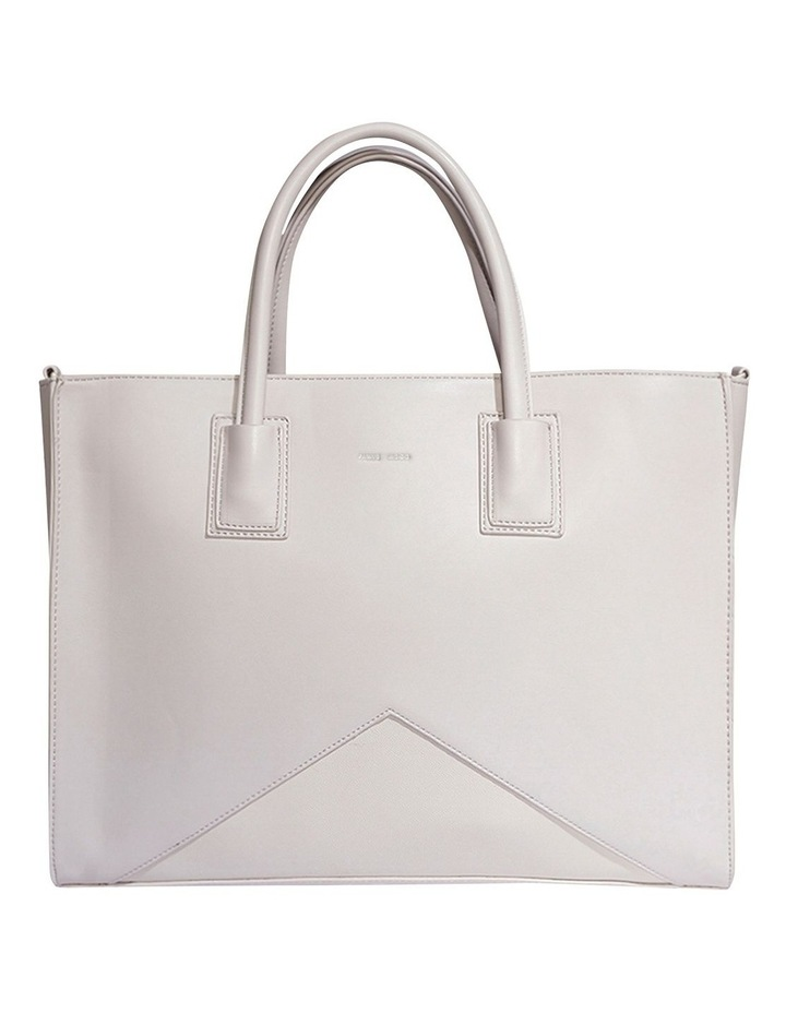 GRE120-TB-02 Greta Double Handle Grey Tote Bag image 1