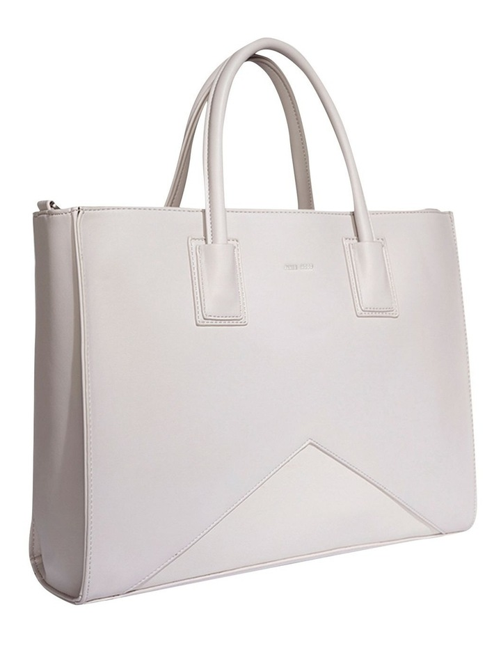 GRE120-TB-02 Greta Double Handle Grey Tote Bag image 3