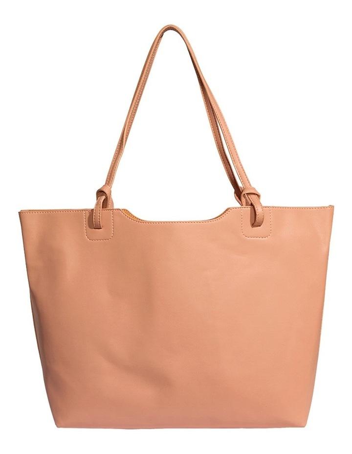 HEA120-TB-04 Heather Double Handle Pink Tote Bag image 1