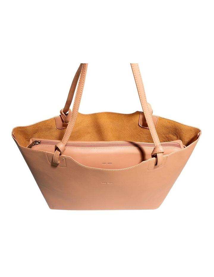 HEA120-TB-04 Heather Double Handle Pink Tote Bag image 3