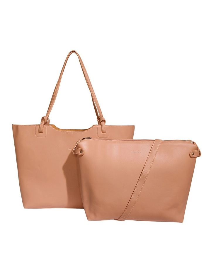 HEA120-TB-04 Heather Double Handle Pink Tote Bag image 4