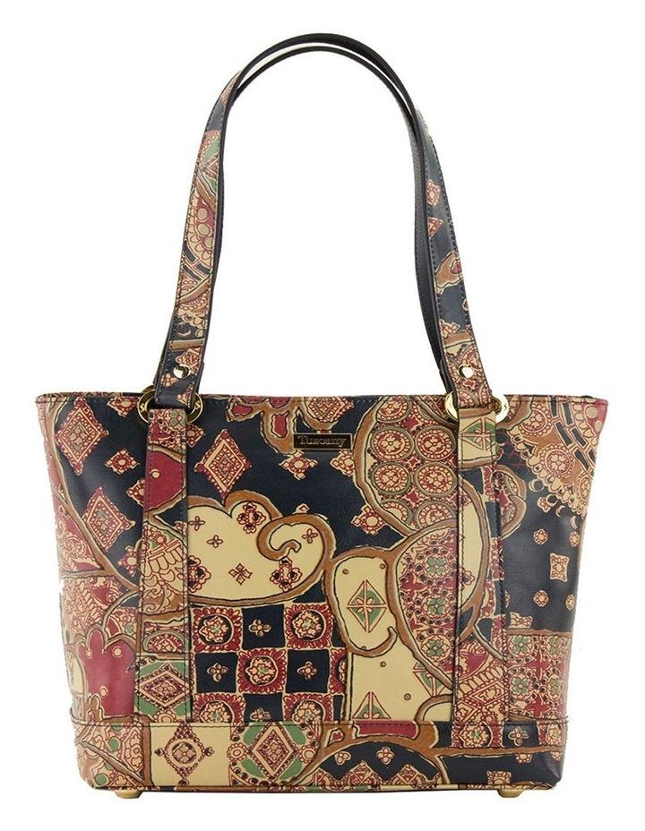 SCB007 Toni Tuscany Zip Top Tote Bag image 1