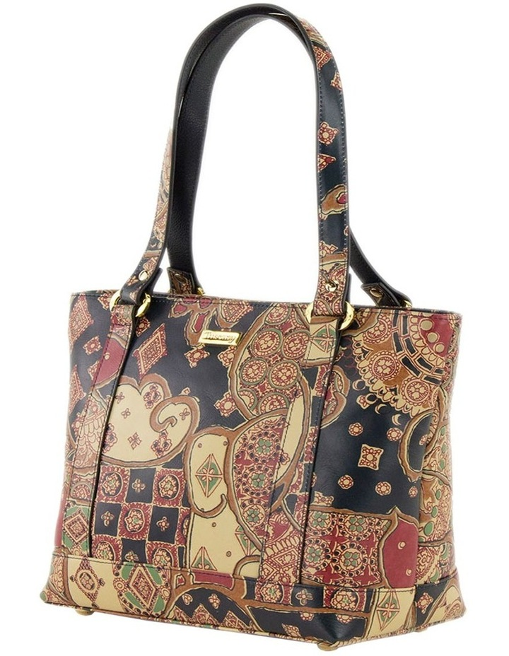 SCB007 Toni Tuscany Zip Top Tote Bag image 2