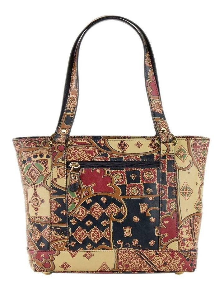 SCB007 Toni Tuscany Zip Top Tote Bag image 3