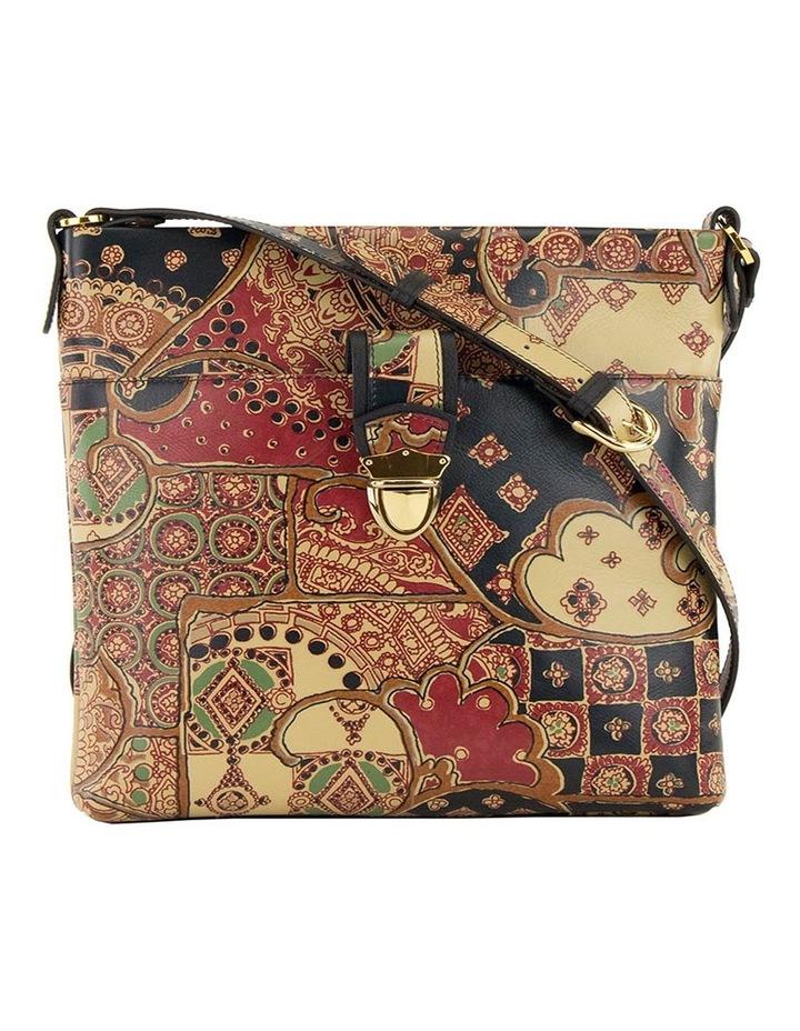 SCB010 Lili Tuscany Zip Top Crossbody Bag image 2
