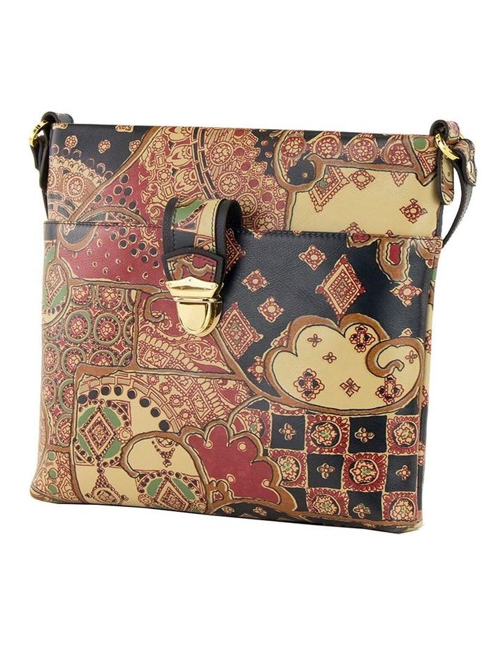 SCB010 Lili Tuscany Zip Top Crossbody Bag image 3