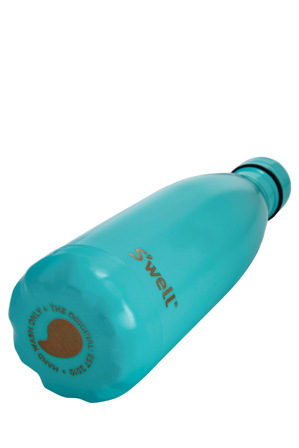 S'well - Insulated Stainless Steel Water Bottle  500ml - Turquoise Blue