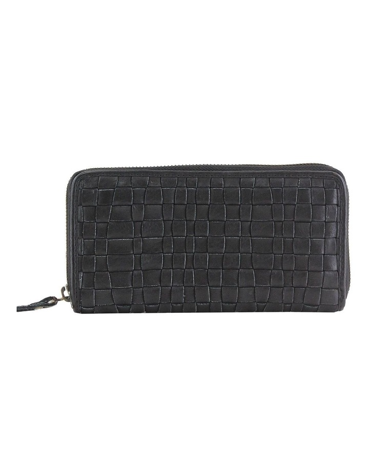 PWM300 Woven Zip Around Wallet image 1