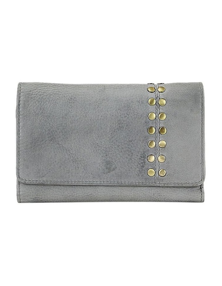 PWM302 Rivet Flap Over Wallet image 1