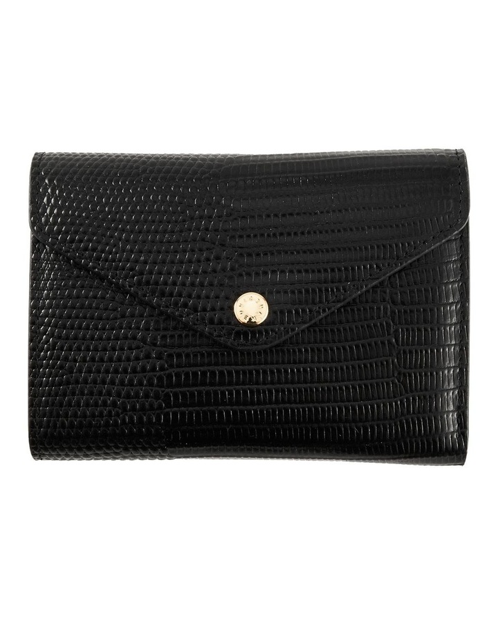NVAW20-W04 The Ace Lizzie Tri-Fold Black Wallet image 1