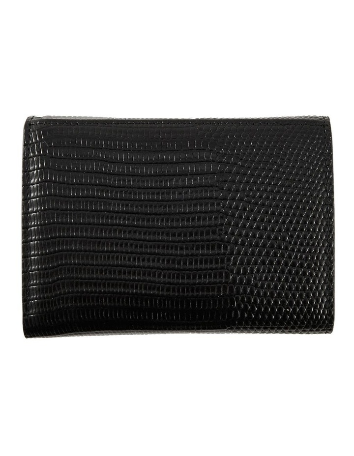 NVAW20-W04 The Ace Lizzie Tri-Fold Black Wallet image 4