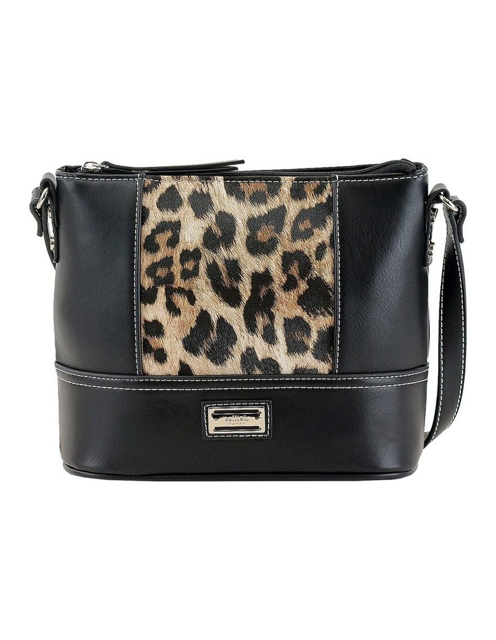 CSM027 KRISTEN Zip Top Crossbody Bag image 1