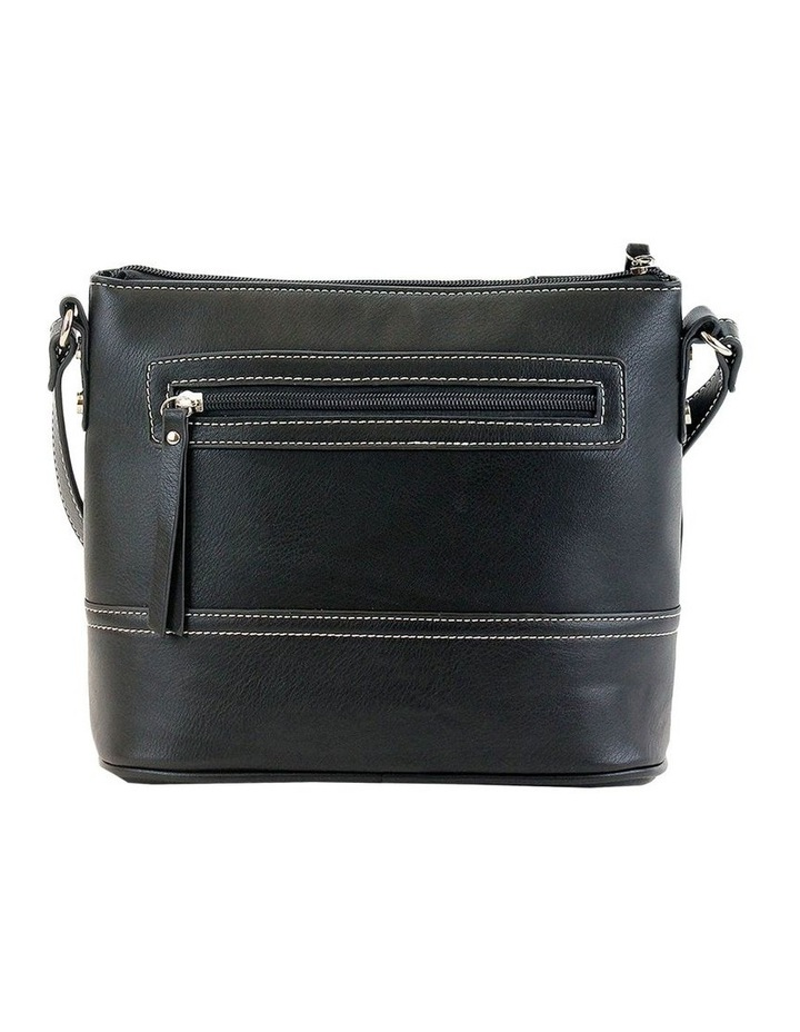 CSM027 KRISTEN Zip Top Crossbody Bag image 3