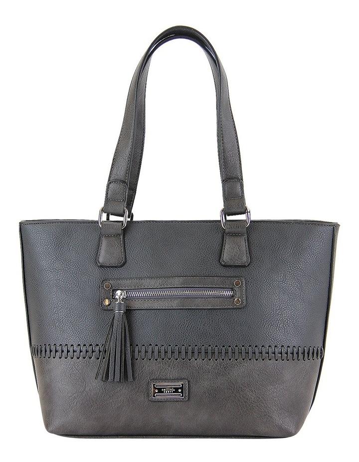 CSM010 FRANKIE  Zip Top Tote Bag image 1