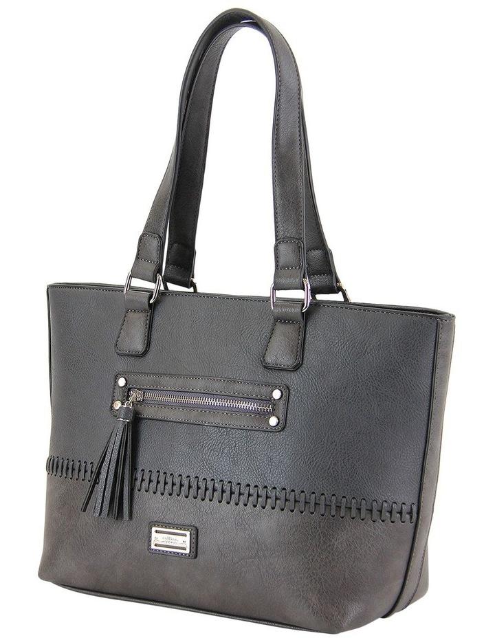 CSM010 FRANKIE  Zip Top Tote Bag image 2