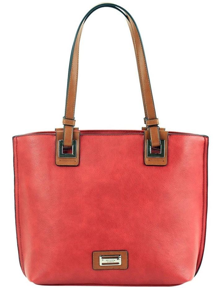 CSM055 RENEE Zip Top Tote Bag image 1