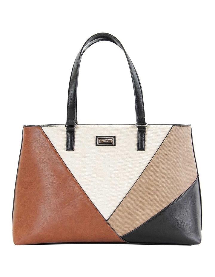 CSM050 QUINCY Zip Top Tote Bag image 1