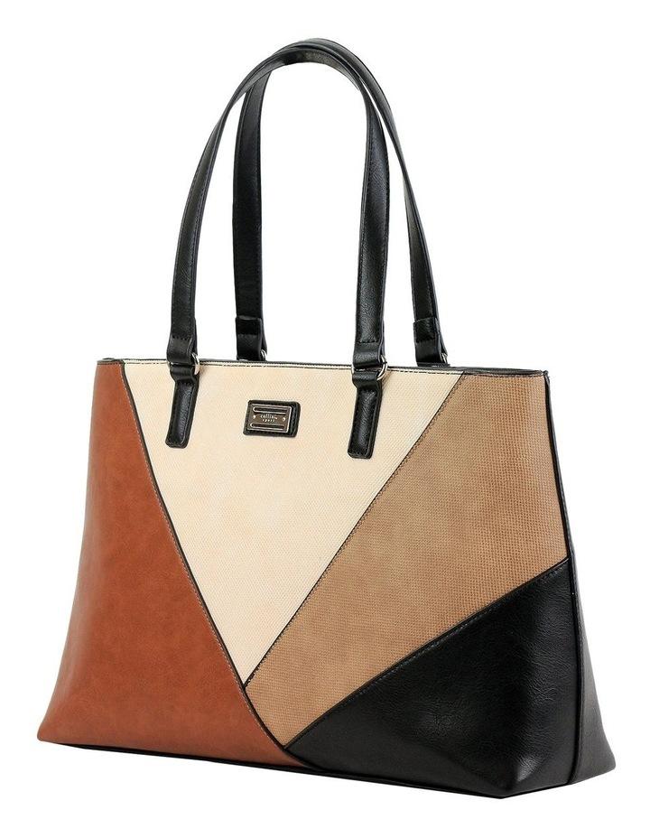 CSM050 QUINCY Zip Top Tote Bag image 2