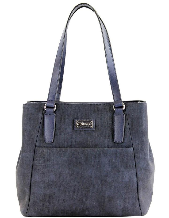 CSM065 SHARON  Zip Top Tote Bag image 1