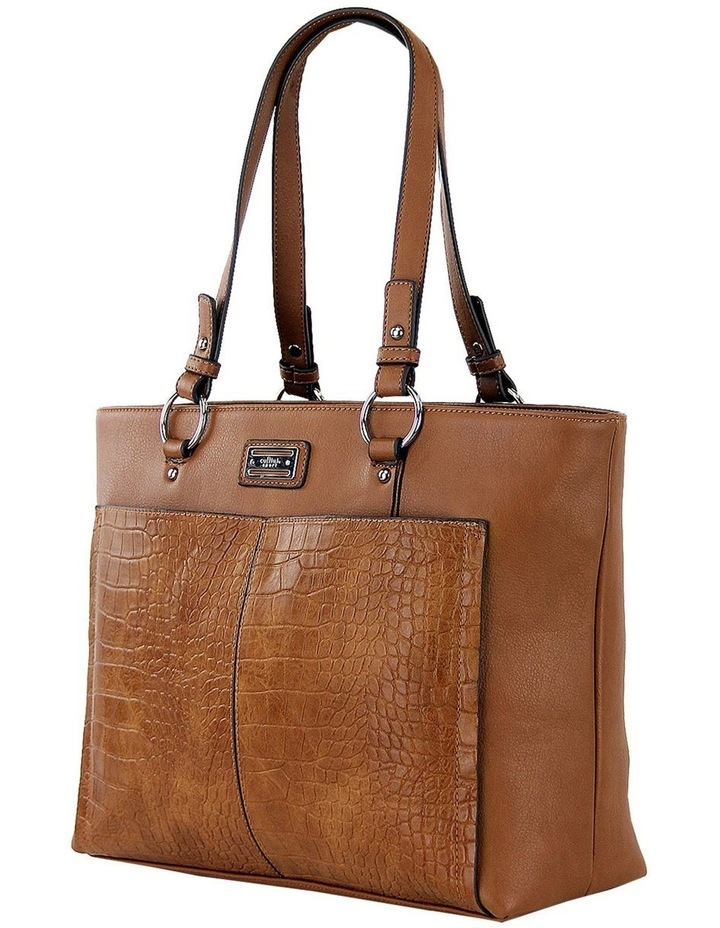 CSP105 Candice  Zip Top Tote Bag image 2