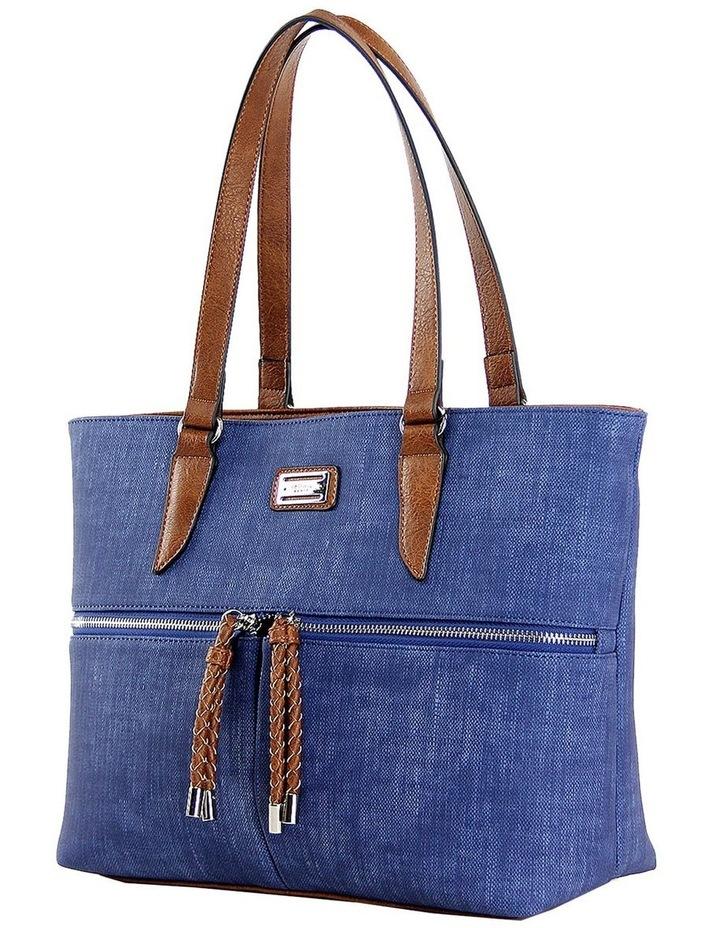 CSP110 Edith Zip Top Tote Bag image 2