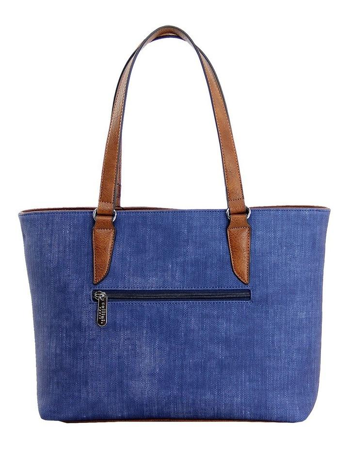 CSP110 Edith Zip Top Tote Bag image 3
