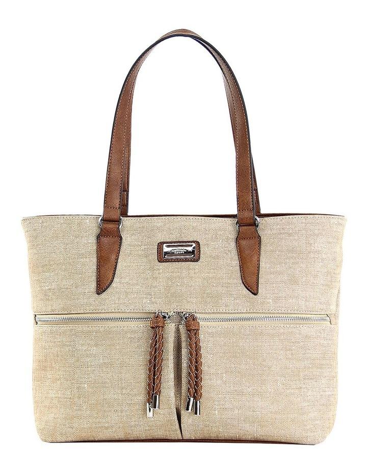 CSP110 Edith Zip Top Tote Bag image 1