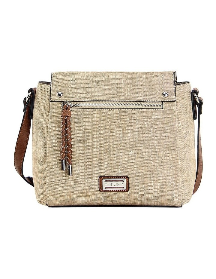CSP111 Edith Zip Top Crossbody Bag image 1