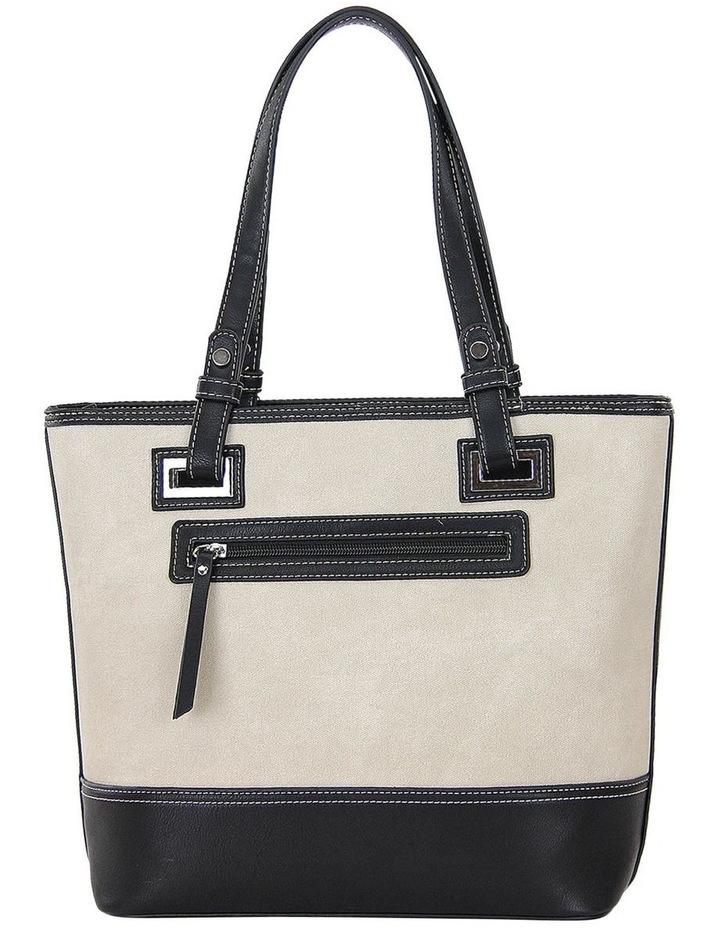 CSP185 Stella Zip Top Tote Bag image 3