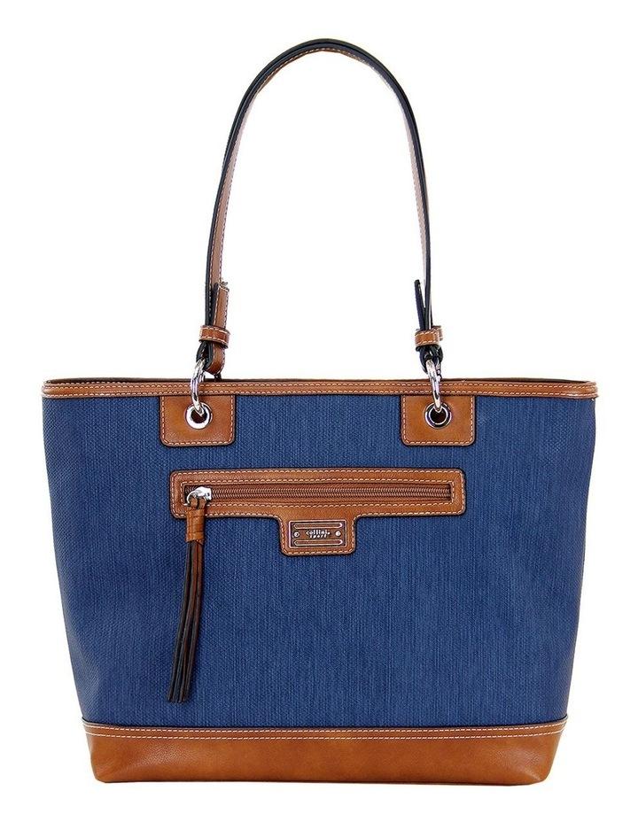 CSP165 Nikki Zip Top Tote Bag image 1