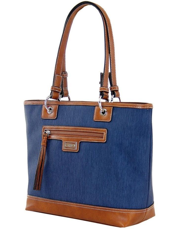 CSP165 Nikki Zip Top Tote Bag image 2