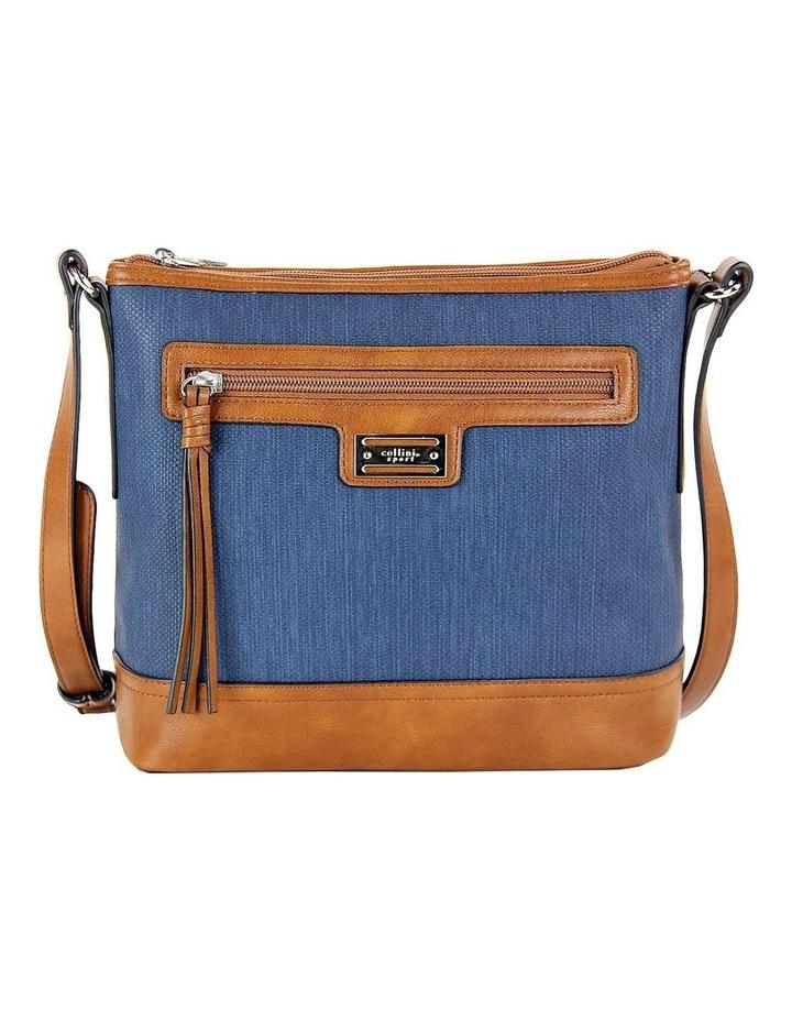 CSP166 Nikki Zip Top Crossbody Bag image 1