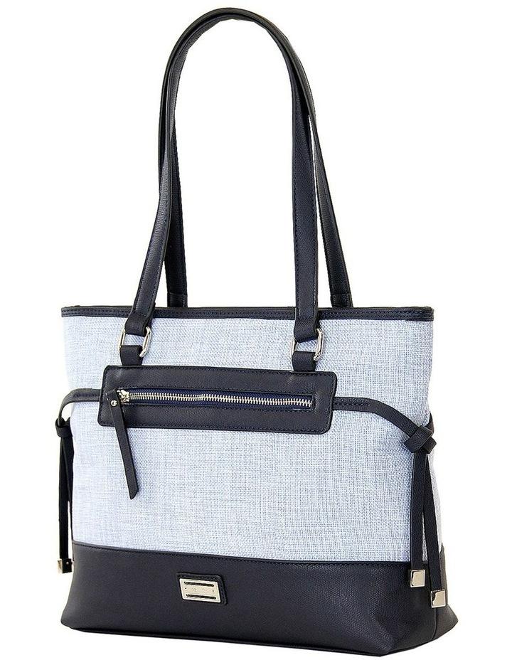 CSP215 Zoe Zip Top Tote Bag image 2