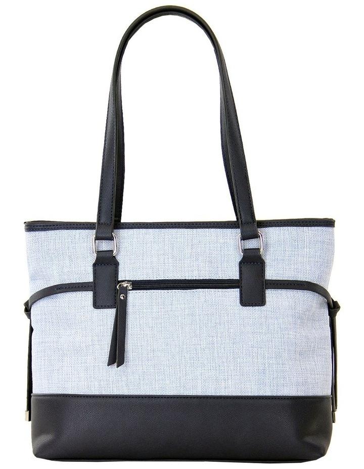 CSP215 Zoe Zip Top Tote Bag image 3