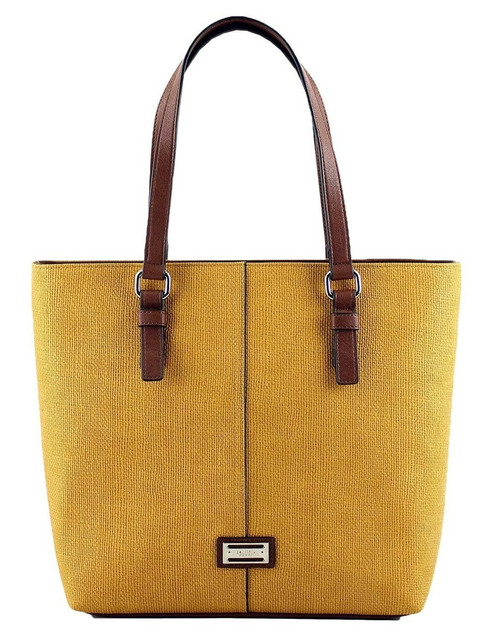 CSQ200 Audrey Double Handle Yellow Tote Bag image 1