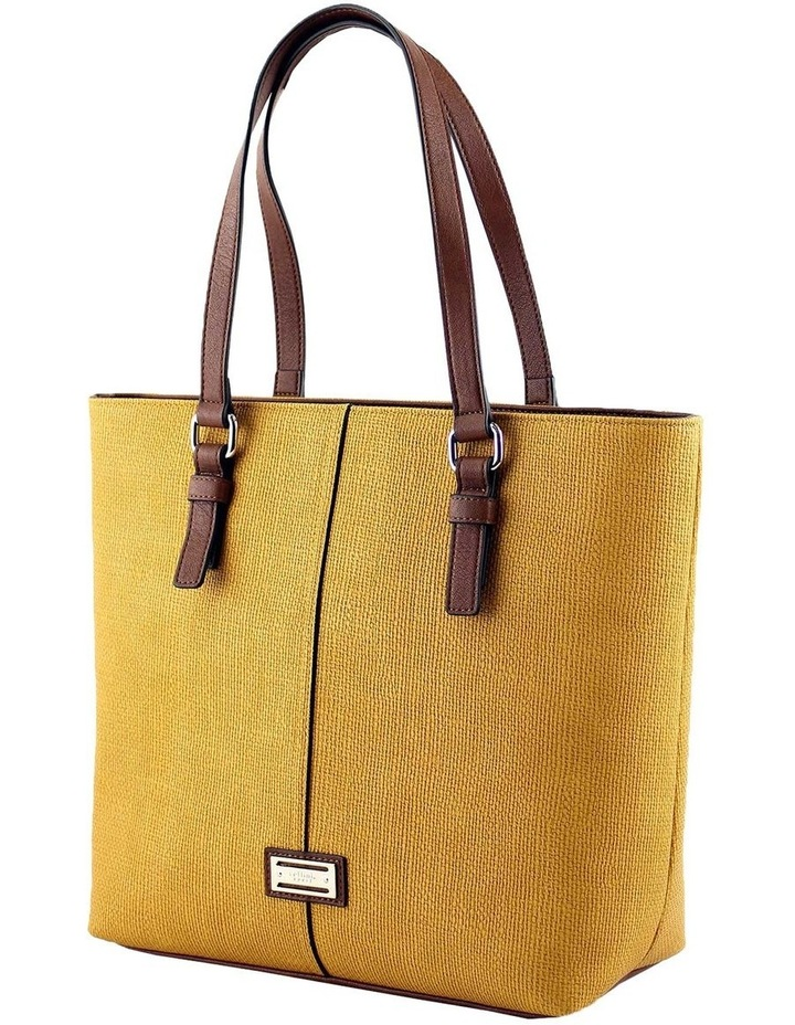 CSQ200 Audrey Double Handle Yellow Tote Bag image 2