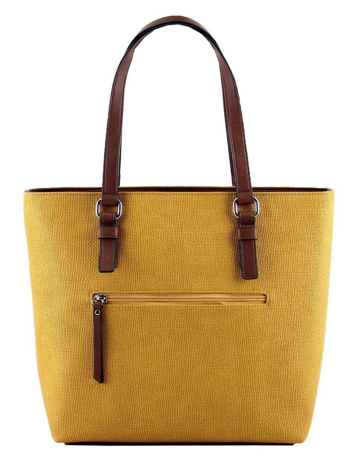 CSQ200 Audrey Double Handle Yellow Tote Bag image 3