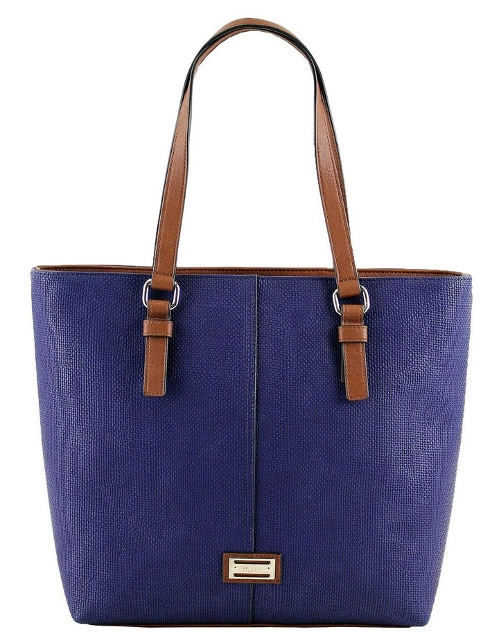 CSQ200 Audrey Double Handle Navy Tote Bag image 1