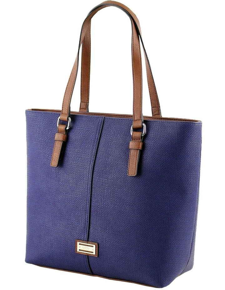 CSQ200 Audrey Double Handle Navy Tote Bag image 2
