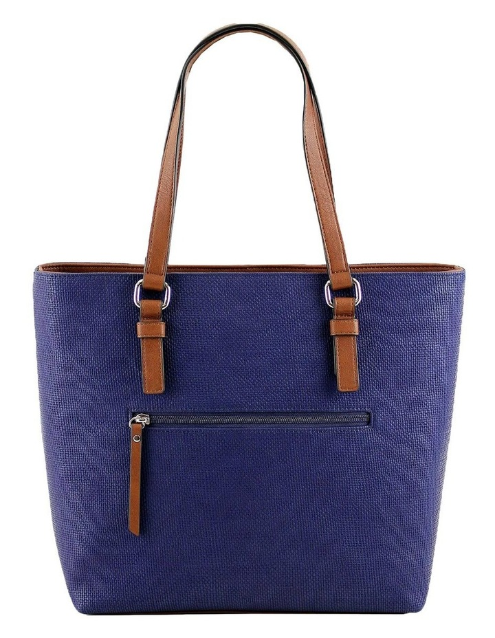 CSQ200 Audrey Double Handle Navy Tote Bag image 3