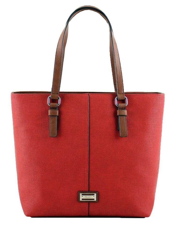 CSQ200 Audrey Double Handle Red Tote Bag image 1