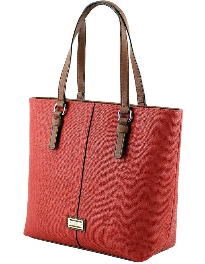 CSQ200 Audrey Double Handle Red Tote Bag image 2